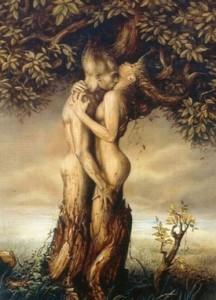 paganism tree form