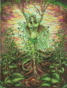 woman Goddess Gaia Paganism pagan